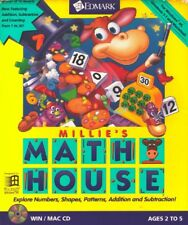 Millie's Math House for Pc New Cd Rom Only In Paper Sleeve Win10 8 7 XP