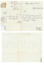 B174) ROMAGNE 1832, SANITA' DELLA PROVINCIA DI BOLOGNA.