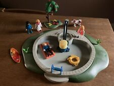 New listing Vintage Playmobile Swimming Pool And Accessories