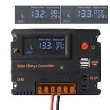 20A CMG LCD Solar Panel Battery Regulator Charge Controller 12V LK