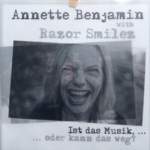 Annette Benjamin with Razor Smilez [LP][weiß] Hans-A-Plast