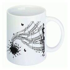 Tasse Musik Lehrer Klavier Flöte Noten tolle Geschenk Idee matt od. glänzend