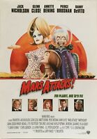 Mars Attacks! Jack Nicholson Pierce Brosnan Vtg 1996 Danish Movie Press Release