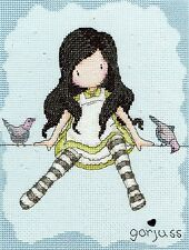 BOTHY THREADS  XG12  ON TOP OF THE WORLD  GORJUSS   CROSS STITCH  KIT
