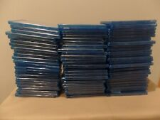 BLU-RAY CASES, EMPTY, HOLDS 3 - TRIPLE DISC IN BLU-RAY CASE, LOT OF 75 QUANTITY