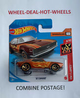 Hot Wheels '67 Camaro - 2020 - Hw Flames - Brand New On short card