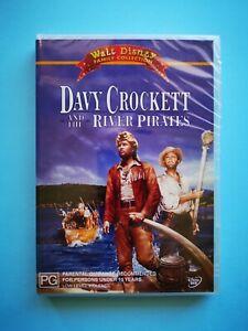 Davy Crockett And The River Pirates (DVD Region 4 PAL) 🆕