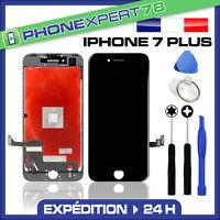 VITRE TACTILE + ECRAN LCD RETINA ASSEMBLÉ SUR CHASSIS POUR IPHONE 7 PLUS NOIR