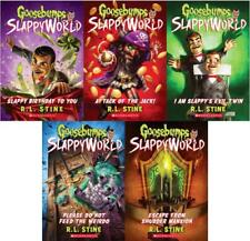 Goosebumps SLAPPYWORLD Series by RL Stine Collection Set of Paperback Books 1-5
