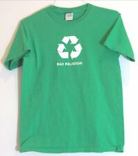 """Bad Religion """"Recycle"""" Vintage T-Shirt S Social Distortion NoFx Pennywise"""