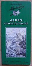 guide MICHELIN vert ALPES SAVOIE DAUPHINE 1962