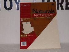 GEOGRAPHICS PARCHMENT NATURALS PAPER 81/2X11