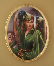 Gone With The Wind CAMEO MEMORIES Oval Plate STEEL MAGNOLIA #2 Second Issue COA