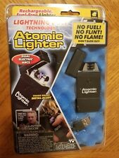 As Seen on TV Atomic Lighter Fuel-Free Tactical Rechargeable Lighter No Flame