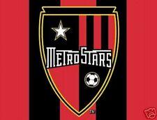 MAJOR LEAGUE SOCCER METROSTARS MLS FAN CLUB TEAM FLAG