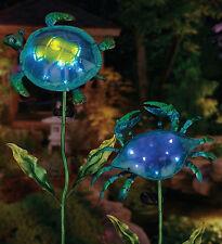 Solar Garden -Solar Garden Stake - Crab - Regal Art & Gift 11365