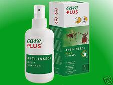 (13,80€/100ml) Care Plus Anti-Insect Deet Spray 40% - 100ml  Insektenschutz