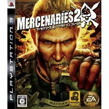 Used PS3 Mercenaries 2: World in Flames Japan Import