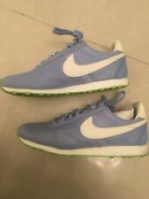 Rare Find! Nike Women's Casual Sneakers in Pastel Blue/Neon Green ColorUS SIZE 6
