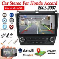 10.1'' Android 9.1 Quad-Core Car Stereo Radio GPS Navi For Honda Accord 03-2007