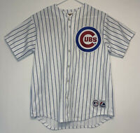Majestic Authentic Chicago Cubs Alfonso Soriano Pinstripe Jersey Size XL