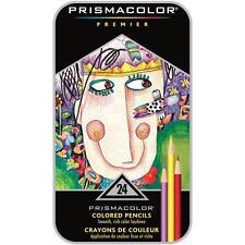 Prismacolor Premier Colored Pencils - Metal Tin Gift Set - 24 Color Set