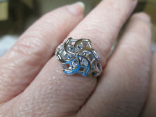 Galadriel's Lord of the Rings Nenya Ring 925 Sterling Silver with Zircon