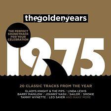 GOLDEN YEARS 1975  CD (SMOKIE, JOHNNY NASH, LINDA LEWIS, ...) NEU