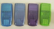 Texas Instruments TI-83 Plus Graphing Calculators Tested Working, Rare Colors