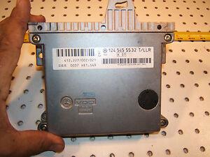 Mercedes W124 1995 E320 Under Foot well VDO T/LLR ECU Genuine Clean 1 Computer