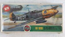 Vintage 1975 Airfix Messerschmitt Bf 109E 1/72 Model Kit 02048-8 Series 2 NISB