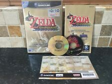 The Legend of Zelda Wind Waker Nintendo Gamecube Game PAL Complete Windwaker