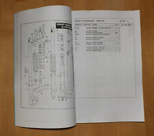 Harley Davidson. MT350 GP. Commercial parts list.