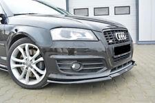 CUP Spoilerlippe CARBON für Audi S3 8P Facelift 09-13 Front Diffusor Schwert *