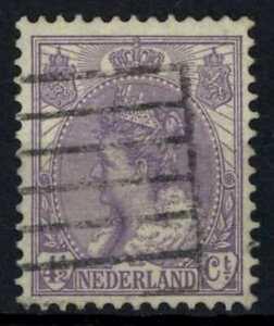 Netherlands 1899-1923 SG#176, 4.5c Mauve Used Cat £5 #E38166