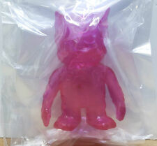 Pop Soda Mini Clear Pink New! Kaiju Vinyl Sofubi Real X Head