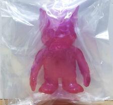Pop Soda Mini Clear Pink New! Kaiju Vinyl Sofubi Real X Head