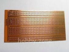 5X10cm Single Side Copper Prototype Paper PCB Breadboard 2-3-5 joint holes