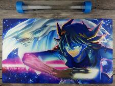 5D's Yusei Fudo YuGiOh Custom TCG Template Playmat Free High Quality tube 【New】