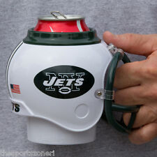 New York Jets All in One Helmet Can & Bottle Cooler, Mug and Desk Caddy
