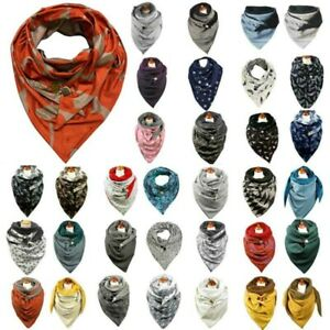 Womens Mens Casual Winter Warm Head Neck Scarf Wrap Scarves Stole Shawl Outdoor