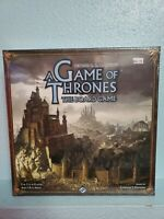 A Game of Thrones 2nd Edition New Unpunched Board Game Sealed Parts