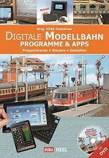 Fachbuch Digitale Modellbahn Programme & Apps, tolle Tipps, inklusive DVD, OVP