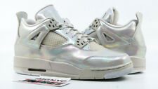 AIR JORDAN 4 IV GG USED SIZE 8.5Y PEARL LIGHT BONE CANNON 742639 045