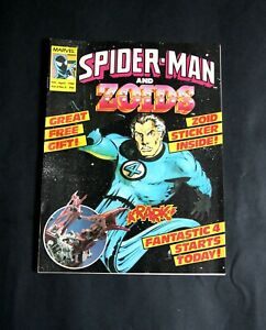 Spider-Man and ZOIDS. Vol.II No.5, 5th April, 1986. With ZOID sticker.