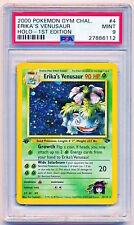 2000 Pokemon Gym Challenge Erika's Venusaur Holo 1st Edition 4/132 PSA 9 POP 187