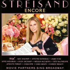 BARBRA STREISAND - ENCORE: MOVIE PARTNERS SING BROADWAY   CD NEW