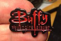 Buffy The Vampire Slayer enamel pin logo retro 90s hat lapel bag Gellar movie tv