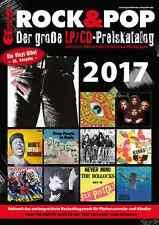 Rock & Pop Preiskatalog LP 2017 neu und ovp kein Porto + DVD mit 9.500 Coverabb.