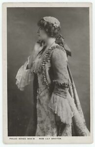 Stage Actress Lily Brayton Vintage Philco Series RPPC Real Photo Postcard
